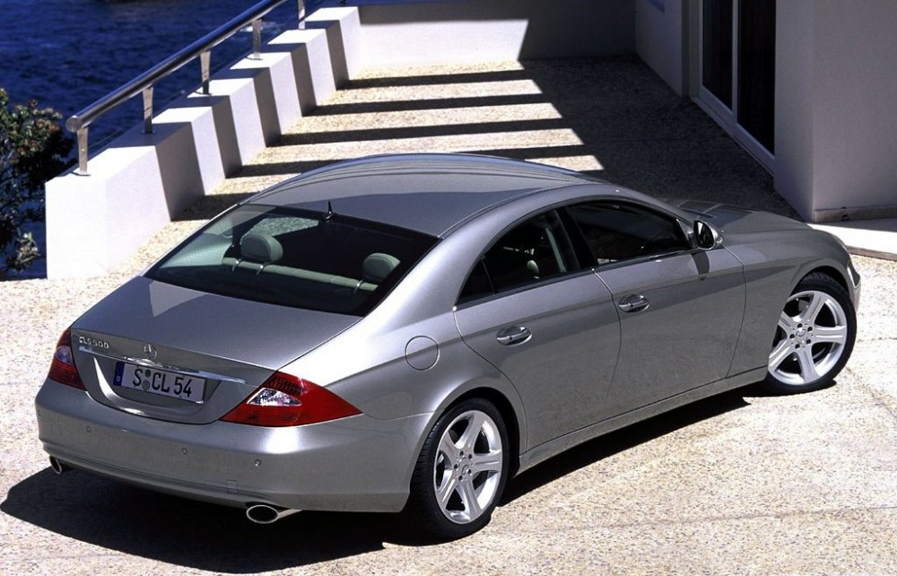 mercedes cls coupe 2004 2008 reviews technical data prices. Black Bedroom Furniture Sets. Home Design Ideas