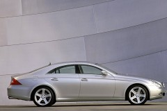 Mercedes CLS kupejas foto attēls 11