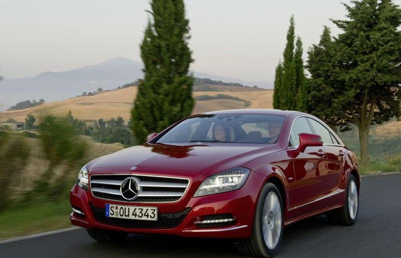 Mercedes CLS 2010 foto attēls
