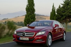 Mercedes CLS coupe foto 9