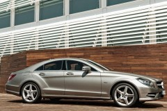 Mercedes CLS coupe foto 4