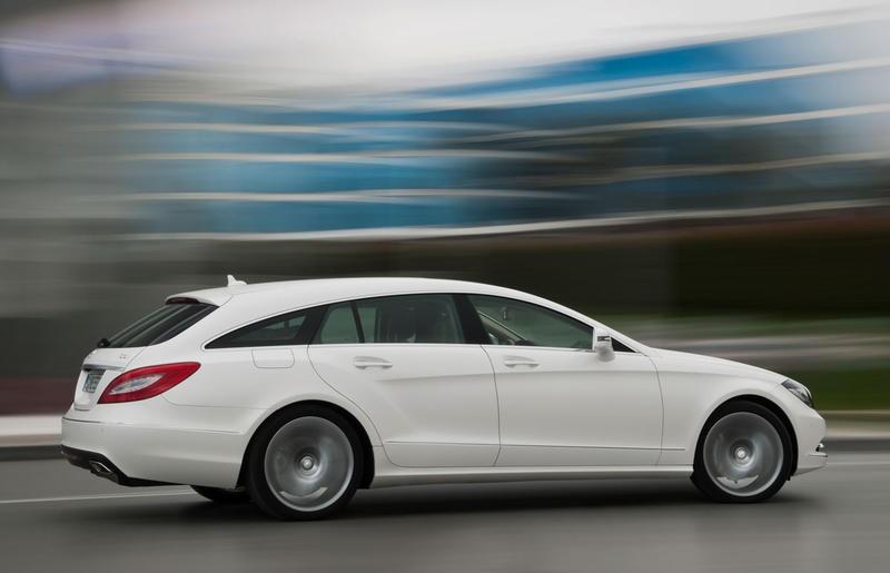 Mercedes CLS Estate Car / Wagon 2012