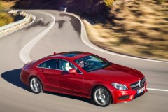 Mercedes CLS coupe foto 13