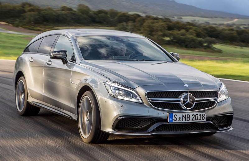 Mercedes CLS Estate Car / Wagon 2014