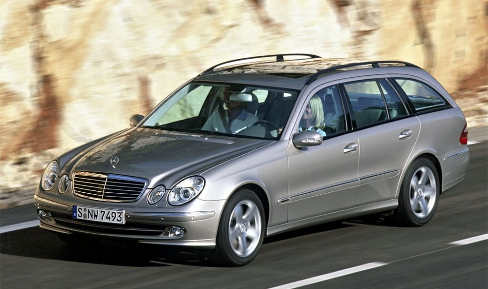 Mercedes e class estate car wagon 2003 2006 reviews for Mercedes benz e class 2003 price