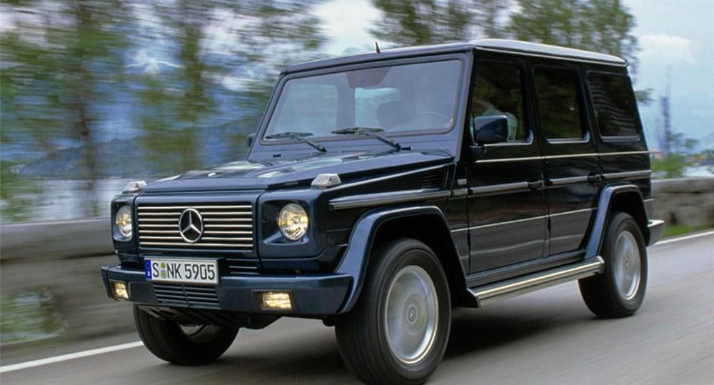 Mercedes G klase 2000 foto attēls