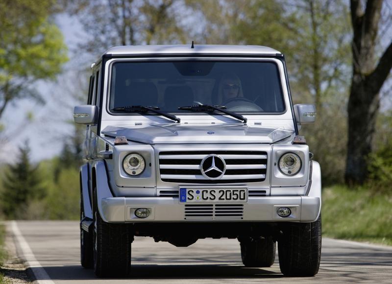 Mercedes G klase 2008 foto attēls