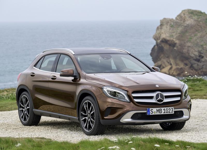 Mercedes GLA 2013 foto attēls