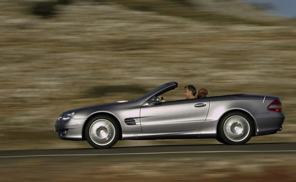 mercedes sl cabrio 2006 2008 reviews technical data prices. Black Bedroom Furniture Sets. Home Design Ideas