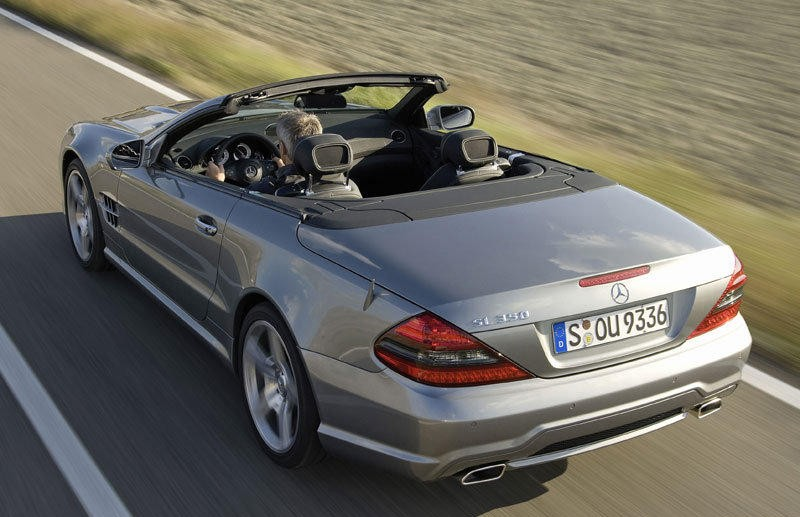 mercedes sl cabrio 2008 2012 reviews technical data prices. Black Bedroom Furniture Sets. Home Design Ideas