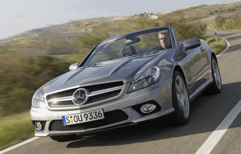 Mercedes sl cabrio 2008 2012 reviews technical data prices for 2008 mercedes benz sl500