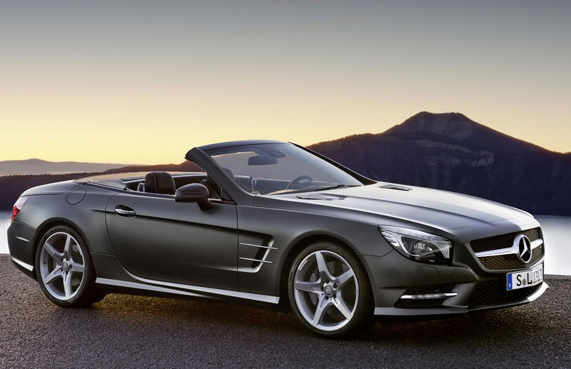 mercedes sl cabrio 2012 reviews technical data prices. Black Bedroom Furniture Sets. Home Design Ideas