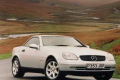 Mercedes SLK kabrioleta foto attēls 3
