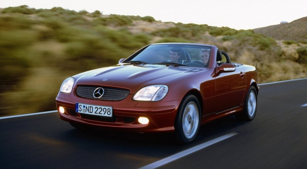 mercedes slk cabrio 2000 2004 opiniones datos t cnicos precios. Black Bedroom Furniture Sets. Home Design Ideas