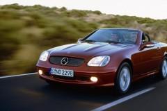 Mercedes SLK kabrioleta foto attēls 1
