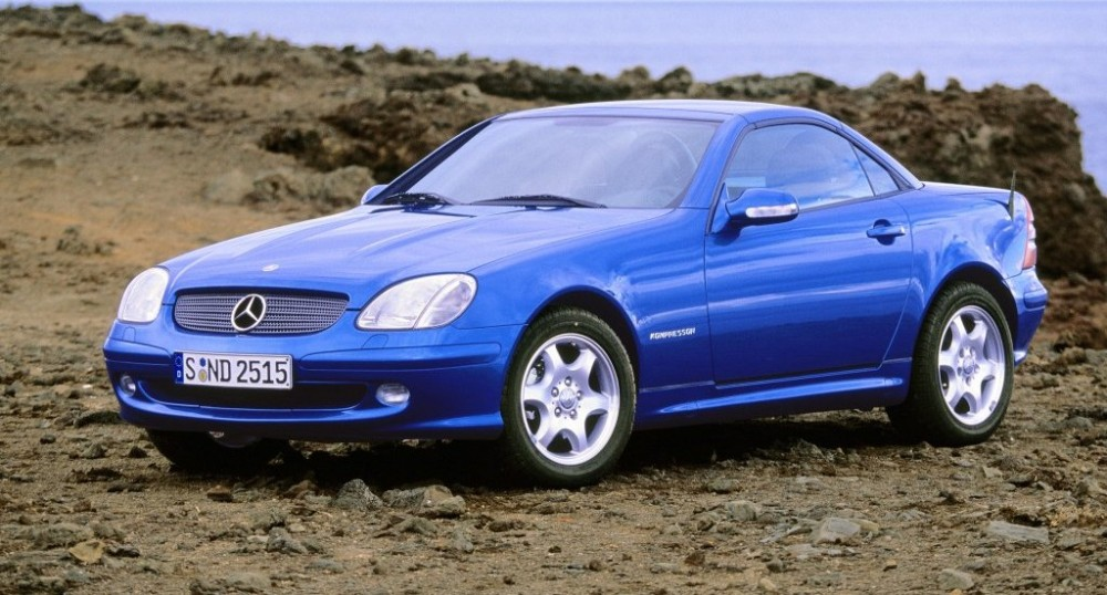 mercedes slk cabrio 2000 2004 reviews technical data prices. Black Bedroom Furniture Sets. Home Design Ideas
