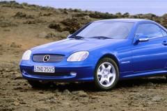 Mercedes SLK kabrioleta foto attēls 4