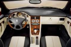 Mercedes SLK kabrioleta foto attēls 5