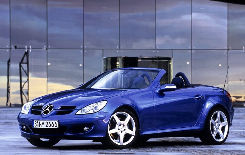 mercedes slk cabrio 2004 2008 opiniones datos t cnicos precios. Black Bedroom Furniture Sets. Home Design Ideas