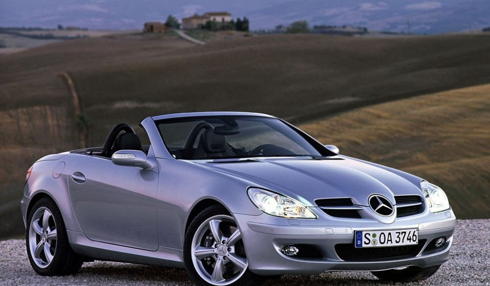mercedes slk cabrio 2004 2008 reviews technical data prices. Black Bedroom Furniture Sets. Home Design Ideas