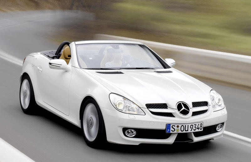 mercedes slk cabrio 2008 2011 reviews technical data prices. Black Bedroom Furniture Sets. Home Design Ideas