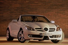 Mercedes SLK cabrio photo image 2