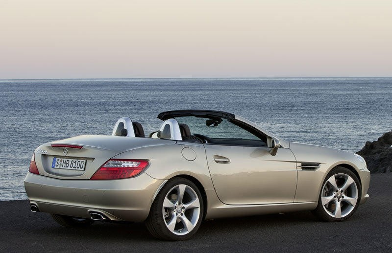 mercedes slk cabrio 2011 opiniones datos t cnicos precios. Black Bedroom Furniture Sets. Home Design Ideas