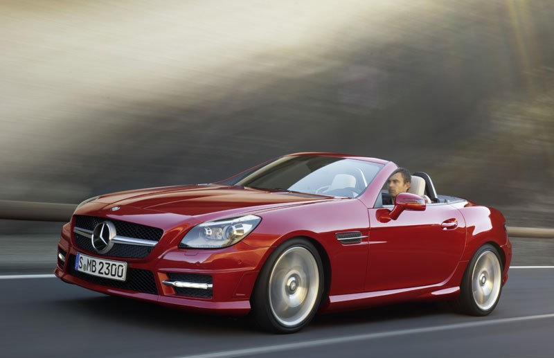 mercedes slk cabrio 2011 reviews technical data prices. Black Bedroom Furniture Sets. Home Design Ideas