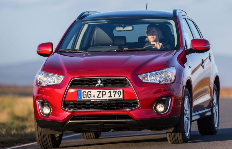 Mitsubishi ASX 2012 foto attēls