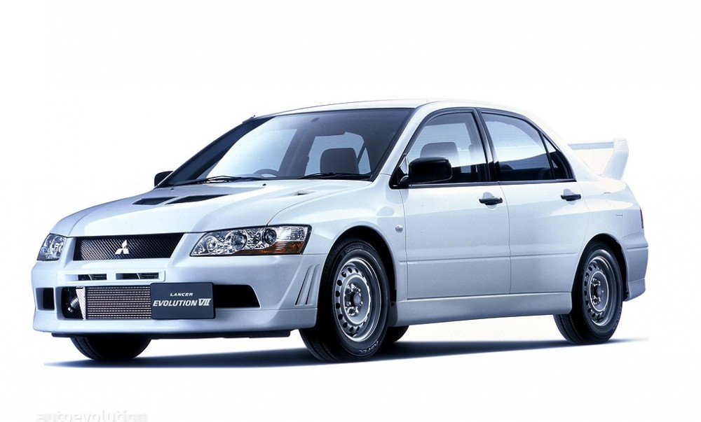 Mitsubishi Lancer Evolution Sedan 2002  2003 reviews technical