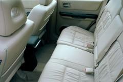Nissan X-Trail aizmugurējais sēdeklis, ādas salons