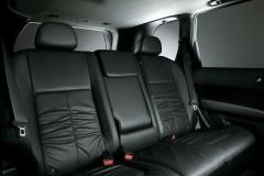 Nissan X-Trail aizmugurējais sēdeklis