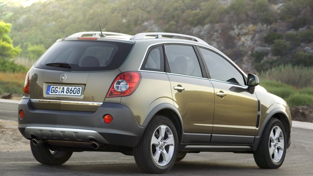 Opel Antara 2007 2011 Reviews Technical Data Prices