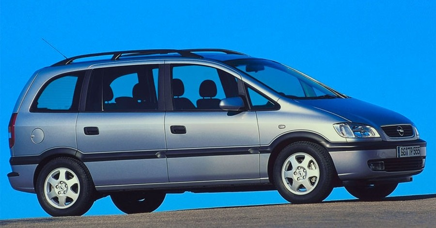 opel zafira minivan mpv 1999 2003 reviews technical data prices. Black Bedroom Furniture Sets. Home Design Ideas