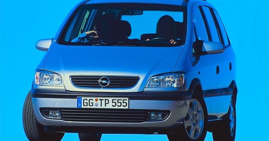 Opel Zafira 1999 foto attēls