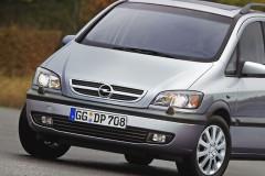 Opel Zafira minivena foto attēls 2