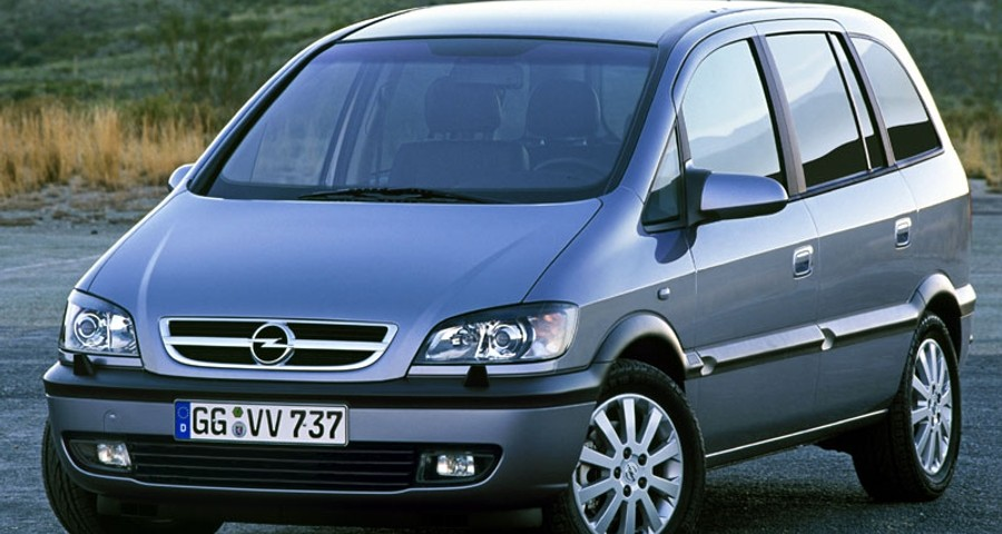 opel zafira minivan mpv 2003 2005 reviews technical data prices. Black Bedroom Furniture Sets. Home Design Ideas