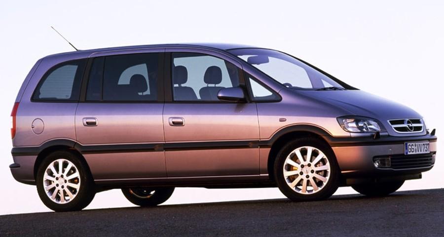 Opel Zafira Minivan Mpv 2003 2005 Reviews Technical Data Prices