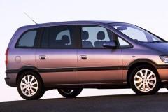 Opel Zafira minivena foto attēls 4