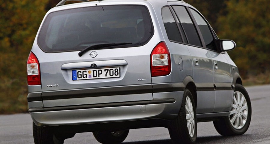 Opel Zafira Minivan Mpv 2003 2005 Reviews Technical
