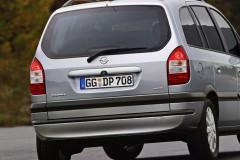 Opel Zafira minivena foto attēls 6