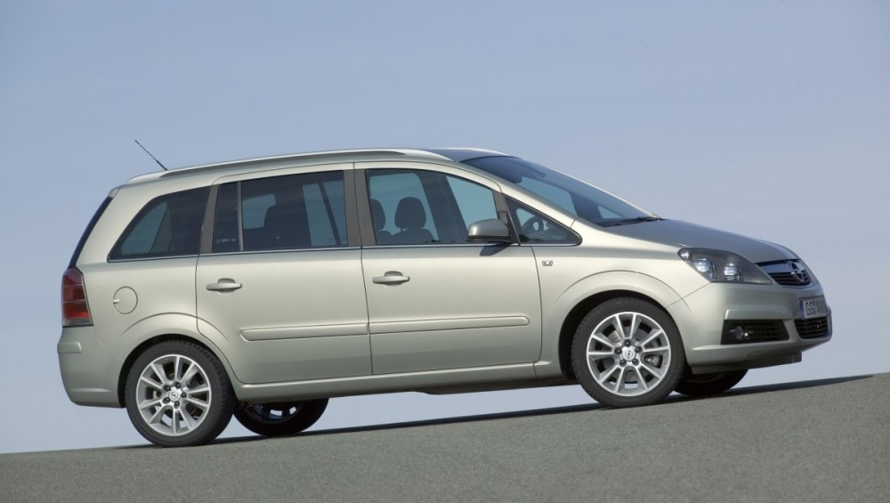 Opel Zafira Minivan Mpv 2005 2008 Reviews Technical Data Prices