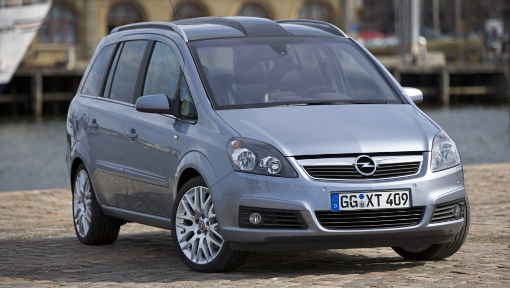 Opel Zafira Minivan Mpv 2005 2008 Reviews Technical Data Prices