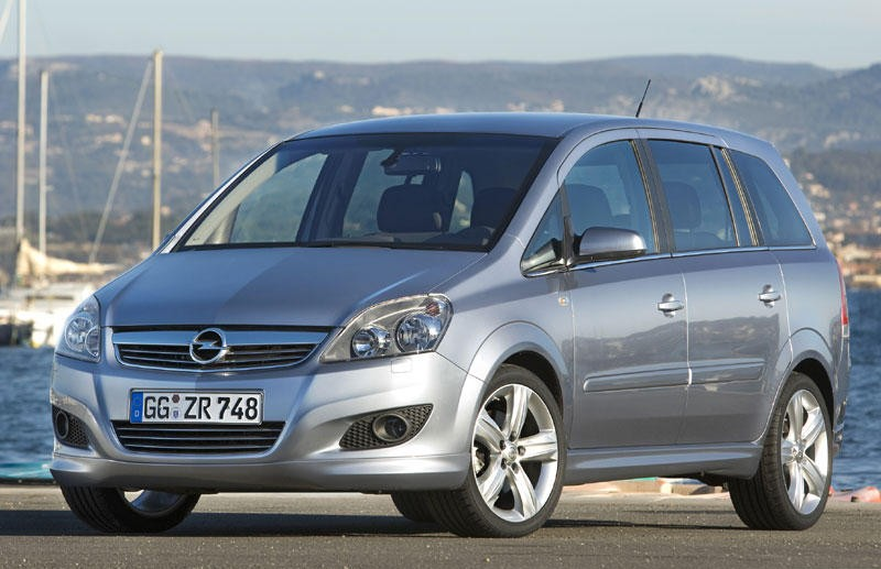 opel zafira minivan mpv 2008 2011 reviews technical data prices. Black Bedroom Furniture Sets. Home Design Ideas
