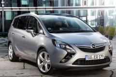Opel Zafira minivena foto attēls 1