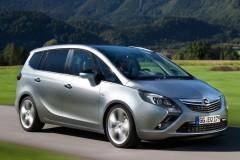 Opel Zafira minivena foto attēls 12
