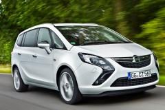 Opel Zafira minivena foto attēls 13