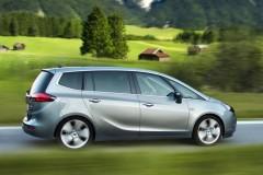Opel Zafira minivena foto attēls 14