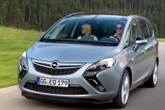 Opel Zafira minivena foto attēls 16