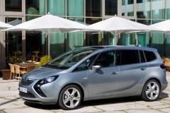 Opel Zafira minivena foto attēls 17